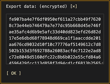 Export data from BAM